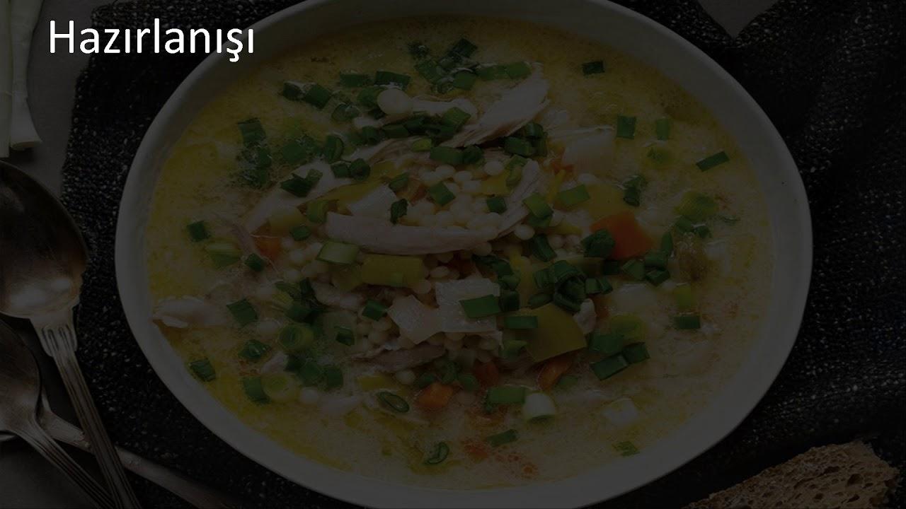Kuskuslu Yoğurt Çorbası Tarifi