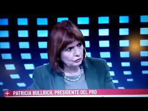 Repudio enérgicamente las declaraciones de Patricia Bullrich