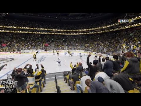 Toronto Maple Leafs @ Boston Bruins | 2018 NHL Stanley Cup Playoffs: 04/12/2018 R1, G1 - NHL 18