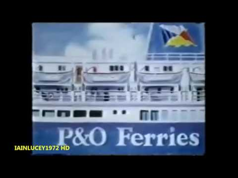 P&O FERRIES TV ADVERT Raising the standard 1983   THAMES TELEVISION  HD 1080P