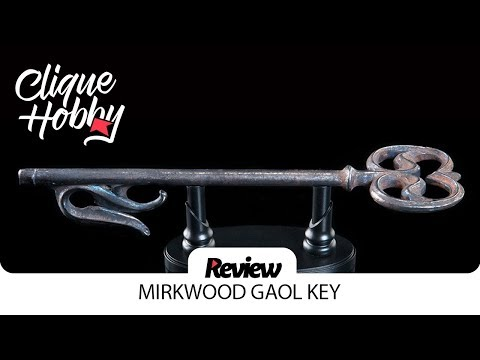 Review: MIRKWOOD GAOL KEY 1/1 - HOBBIT by WETA Workshop ( Lord of The Rings )