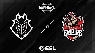 G2 Esports vs. Team Empire – Coastline – Rainbow Six Pro League – Season X – EU