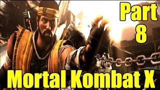 Mortal Kombat X Gameplay Playthrough Part 8 - Takeda Takahashi (PC)