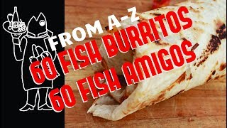 Catch And Cook Yellowtail Recipe???? ? How To Make Fish Burritos w/Mexican ????????  Crema at Fish T
