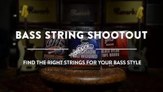 Bass Strings Shootout - Which Strings are Right For Your Bass?