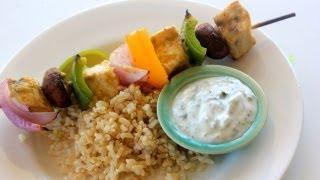 Swordfish And Veggie Kebab Recipe