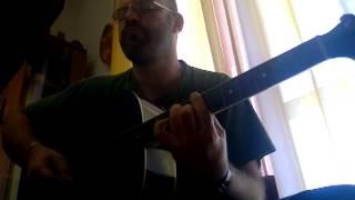 """Lorenzo """"JOVANOTTI"""" Cherubini - """"Un Raggio di Sole"""" - guitar cover by AndreaZ. - (04-11-2013)"""