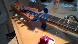 How to Repair a Low Nut Slot in a Guitar