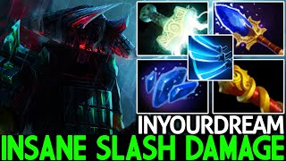 INYOURDREAM [Juggernaut] Insane Sląsh Damage Beautiful Plays Dota 2