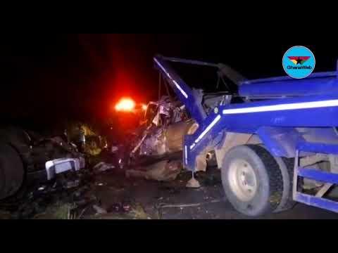 Three killed in gory accident at Adansi-Fomena