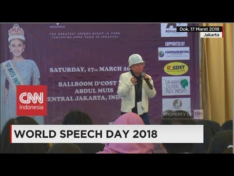 Perayaan World Speech Day 2018 di Indonesia