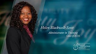 Helen Blackwell Scott: Administrator in Training