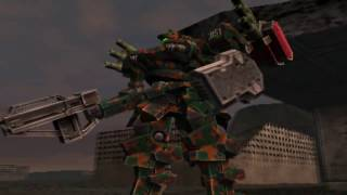 "Armored Core Silent Line ""Secure Unexplored Region"""