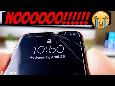 CRACKED MY IPHONE X – How much did I pay to fix it???