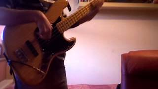 [throwback] Jamiroquai - Travelling Without Moving Bass Cover