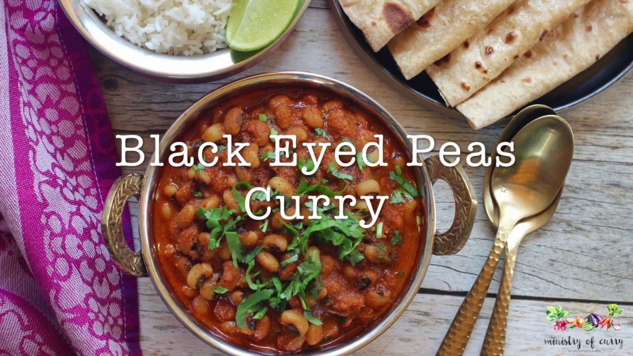 Black Eyed Peas Curry and Rice - Instant Pot - Ministry of Curry