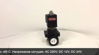 Электромагнитный клапан SMART SF62321(Электромагнитный клапан с сервоусилением SF62321 DN 10, резьба G 3/8, нормально-закрытый. Выполнен из высокопрочно..., 2015-11-24T10:11:25.000Z)