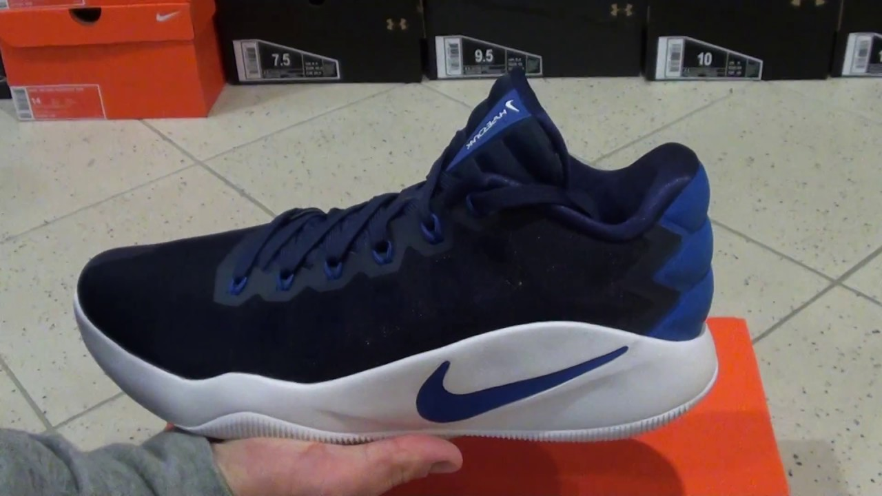 100% authentic 297a0 ab13e Nike Hyperdunk 2016 Low Navy