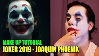Makeup tutorial Joker 2019 - Joaquin Phoenix