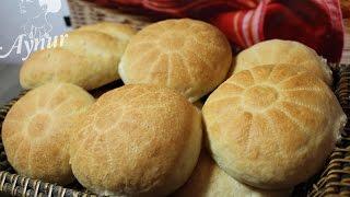 Brötchen wie beim Bäcker#Sonntagsbrötchen#Kahvaltilik ekmek