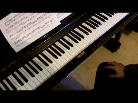 ABRSM Piano 2011-2012 Grade 6 A:6 A6 Zipoli Suite No.1 Movement 2 Corrente Tutorial 2