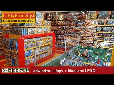 10 Rafi Bricks Odwiedza Sklepy Z Klockami Lego Youtube