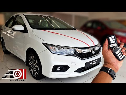 2019 Honda City ZX Sunroof | Pearl White | Price | Mileage |Features |Specs | Interior