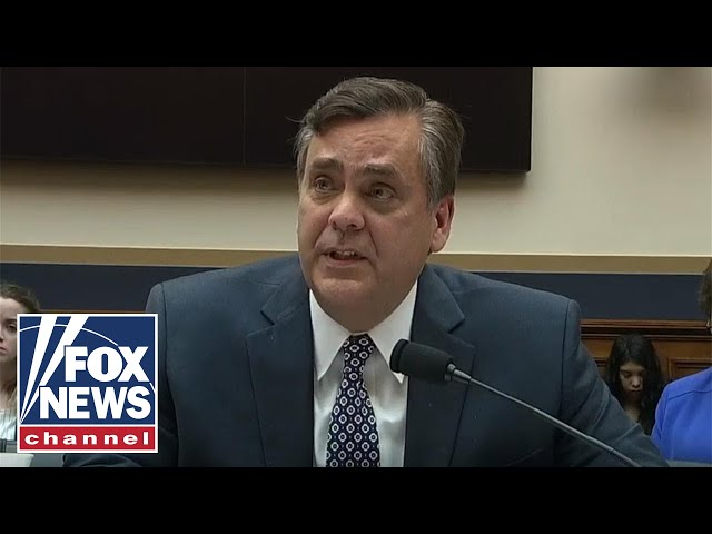 Professor: House Judiciary in for 'world of hurt' if they sue Barr