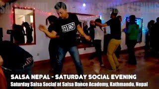 Salsa Social Saturday at Salsa Dance Academy (SalsaNepal)