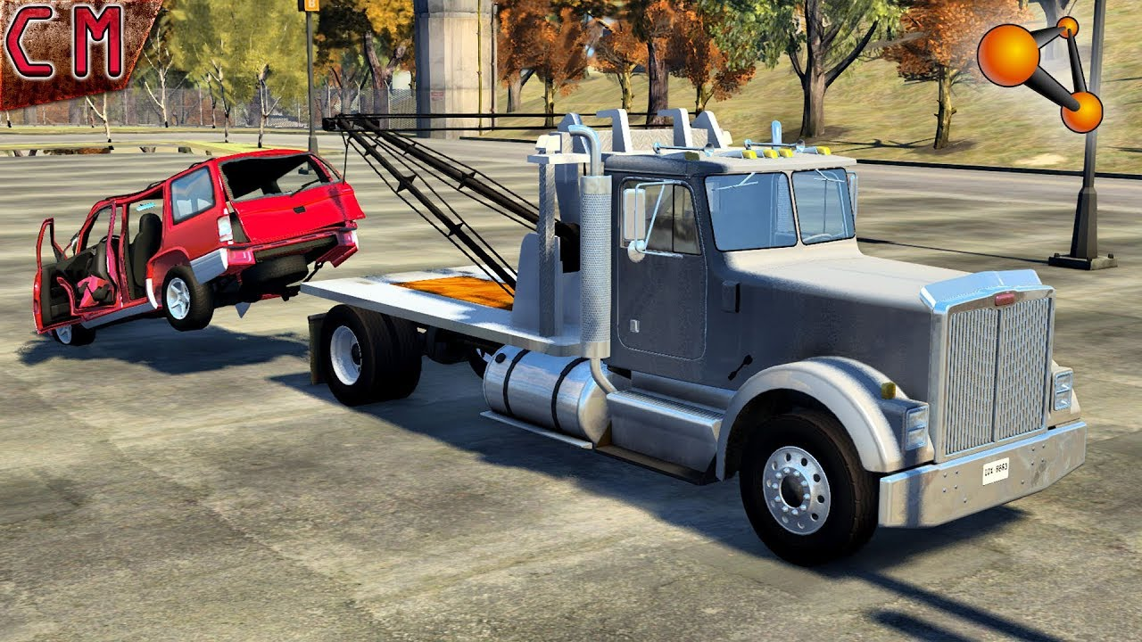Tow Truck Tow Truck Job In Beamng Drive 2