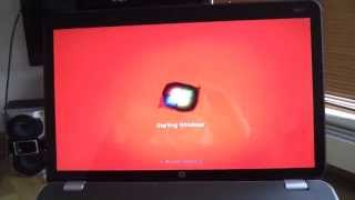 laptop screen problems (black turn to red)