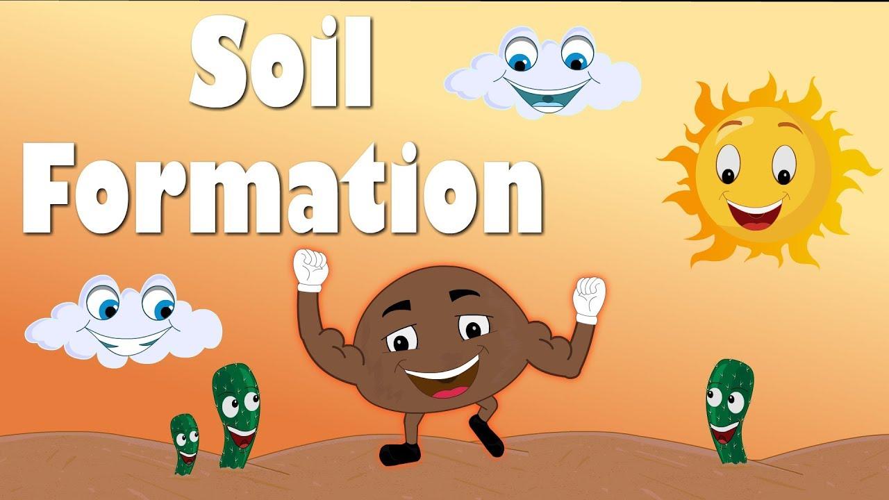 soil formation for kids aumsum kids education science learn [ 1280 x 720 Pixel ]