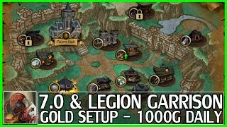 How to make gold in WoW for LEGION // TOP 30 wow gold farming spots to make 100k or more