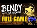 FULL GAME PS4 GAMEPLAY Bendy And The Ink Machine CHAPTERS 1 2 3 4 Amp 5 ENDING mp3