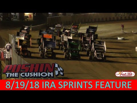 Angell Park Speedway - 8/19/18 - IRA Sprints Feature
