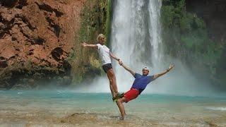 Supai Tour Run to the Colorado River and Back - Fast Trip to Havasupai