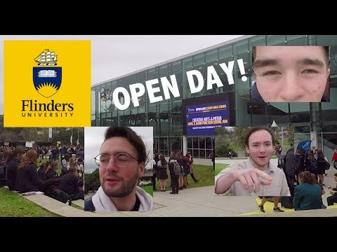 Flinders University Open Day 2018 - Vlog