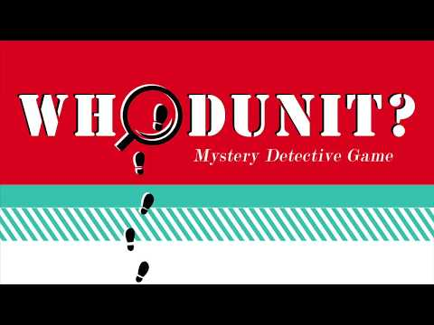 Throw a Mystery Detective Game Night!