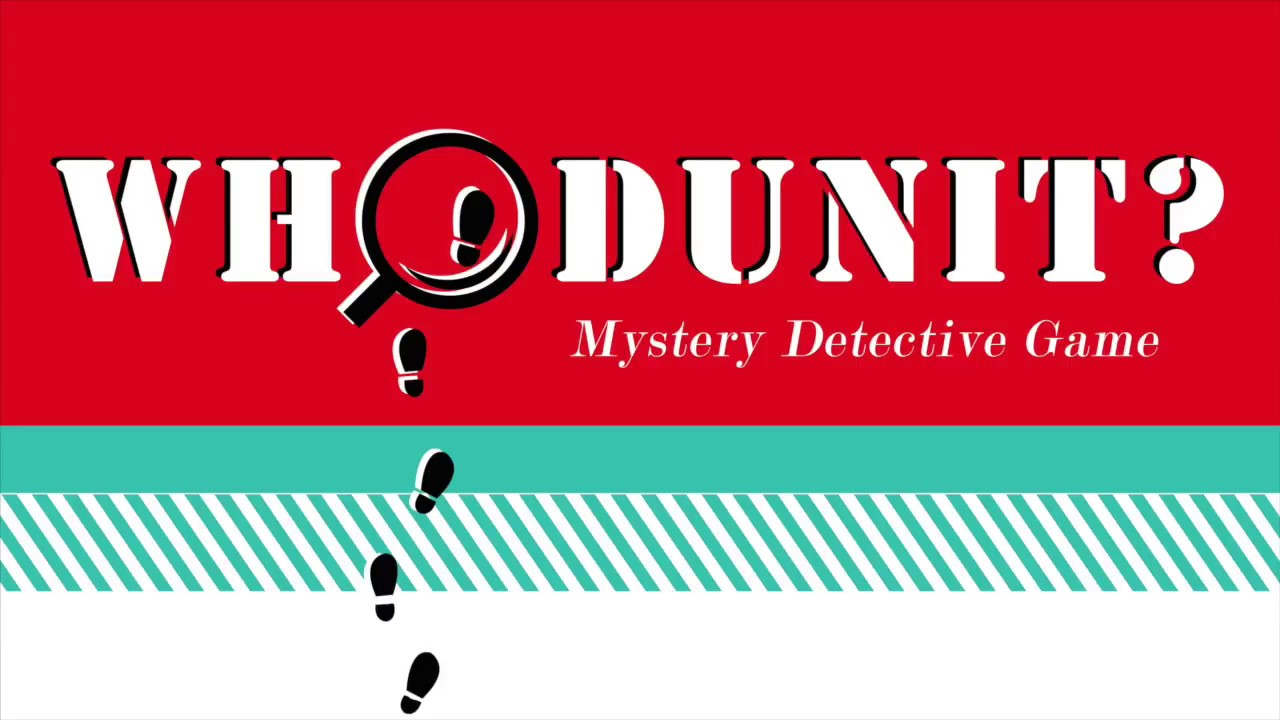 graphic relating to Free Printable Mystery Games titled Whodunit? Solution Detective Video game Neighborhood Day Night time