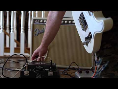 Fulltone Solid State Tape Echo With 1962 Fender Bandmaster