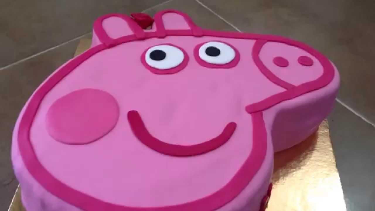 How To Make A Pig Face Cake