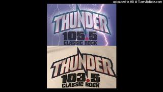 Thunder 105.5 - WTBT Tampa, FL - April 1999 - Nick Van Cleve, Don Capone