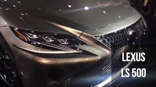 Lexus LS 500 at the 2017 Auto Show
