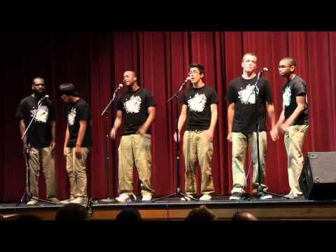 Cry Me A River Cover - WHS Acapella group