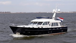 Silverline Trawler 1500 | Impressions - the Dutch exclusive steel Trawler yacht - Custom built