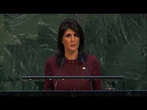 US ambassador to UN says Jerusalem vote 'will be remembered'