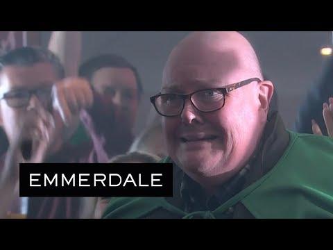 Emmerdale - Paddy Is Mistaken for a Pro Wrestler
