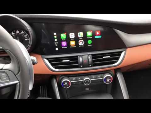 Alfa Romeo Stelvio Apple Carplay >> Apple Carplay In 2018 Alfa Romeo Giulia Youtube