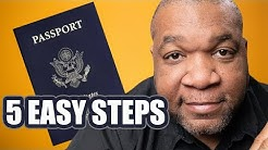 How to Apply for a US Passport 2019 - Get a US Passport in Five Easy Steps