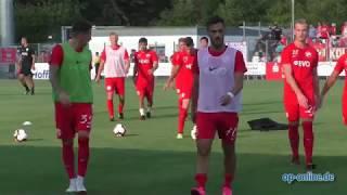 FC-Astoria Walldorf - Kickers Offenbach: Höhepunkte und Stimmen